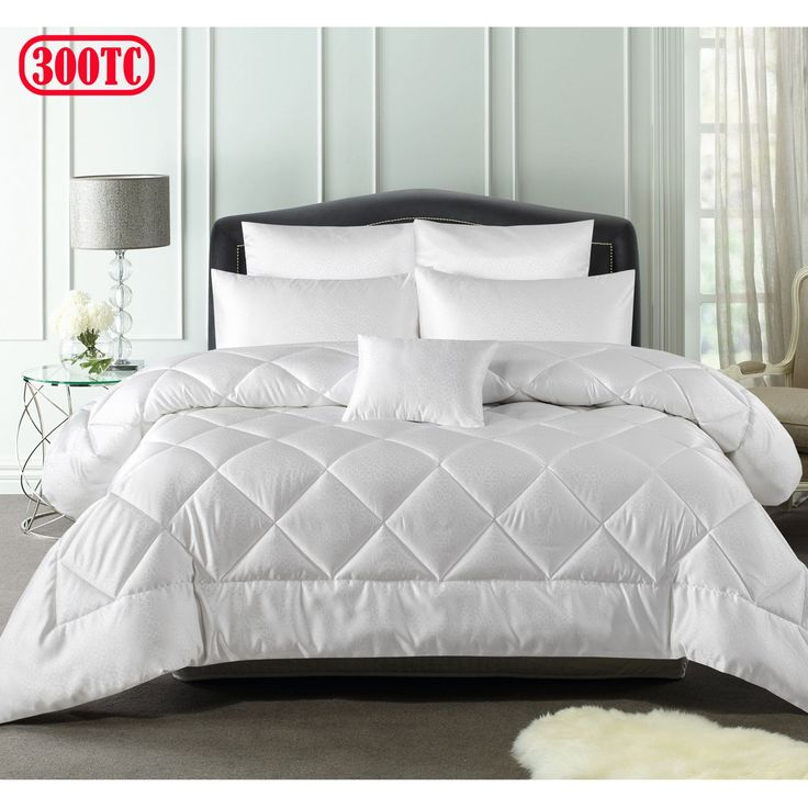 300TC 6 Pce Inez Jacquard Comforter Set by Accessorize