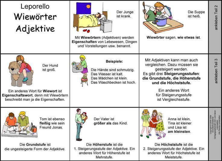 Adjektive kennenlernen