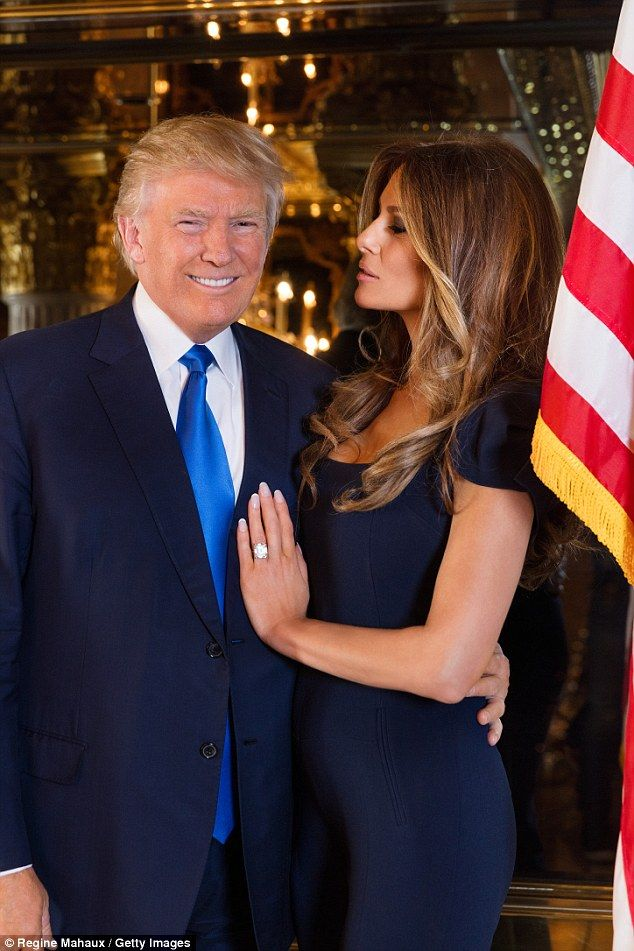 Melania and billionaire husband Donald: 'I love his amazing mind,' she said in her still thick Eastern European accent