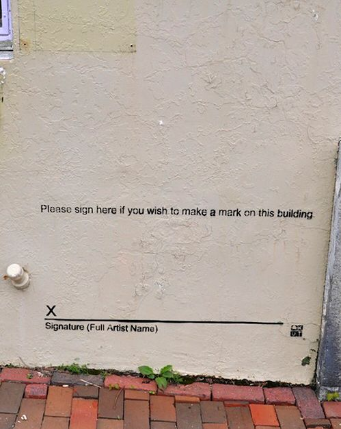 Best Urban Paint Images On Pinterest Art Designs Street Art - Guy paints over graffiti and rewrites them in a more legible way