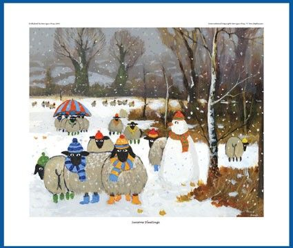 Giclee Print - Seasons Bleetings - Thomas Joseph