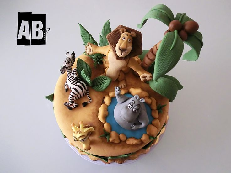 Madagascar ⚜ themed cake