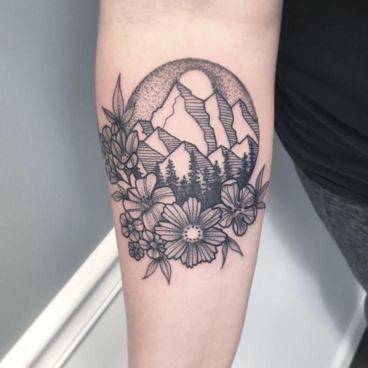 Tattoo by Audrey Bauer Www.Audreyanneart… #tattoo #tattooidea #smalltattoo #ma…