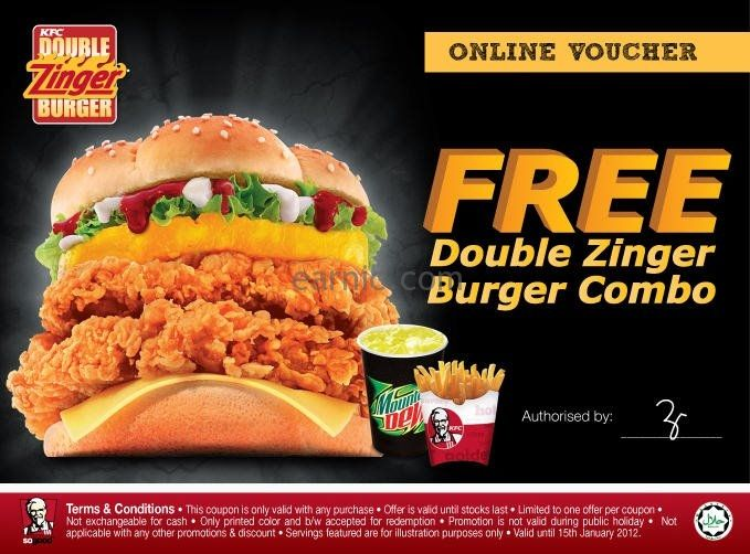 kfc coupons 2015 sydney - photo#32