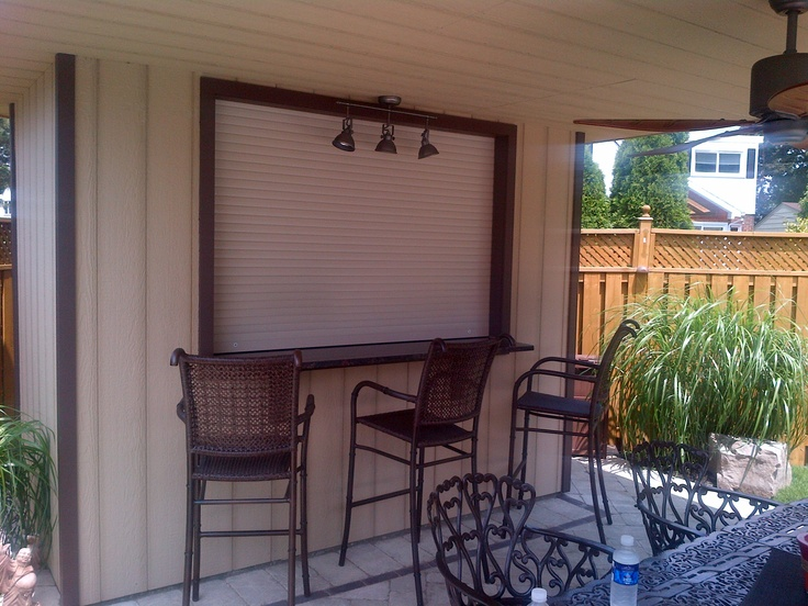 11 best roll shutters for backyard cabanas images on pinterest