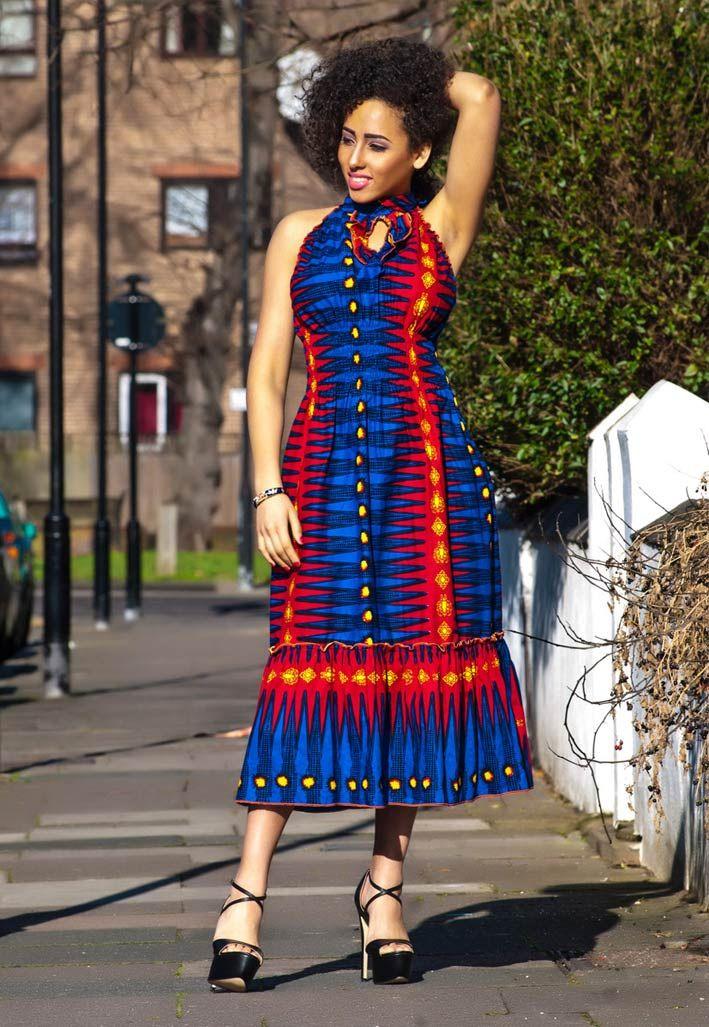 Hadar Dress Latest African Fashion African Prints African Fashion Styles African Clothing
