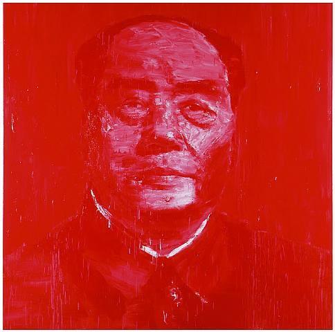 Portrait Officiel Rouge by Yan Pei Ming '03