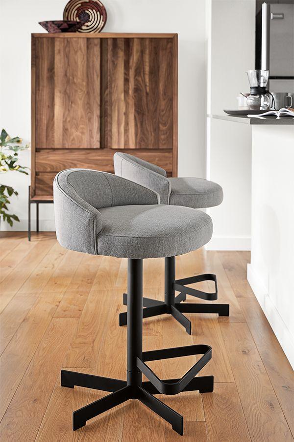 Swivel counter stools