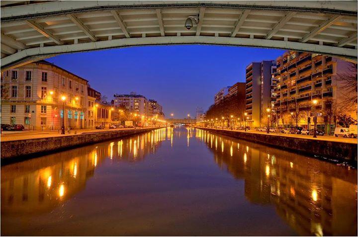 #photo Bassin de la Villette © Sylvain Courant #PEAV @Menilmuche @lavillette_ @aubordducanal
