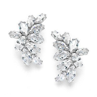 Cassandra Cluster Marquise Earrings