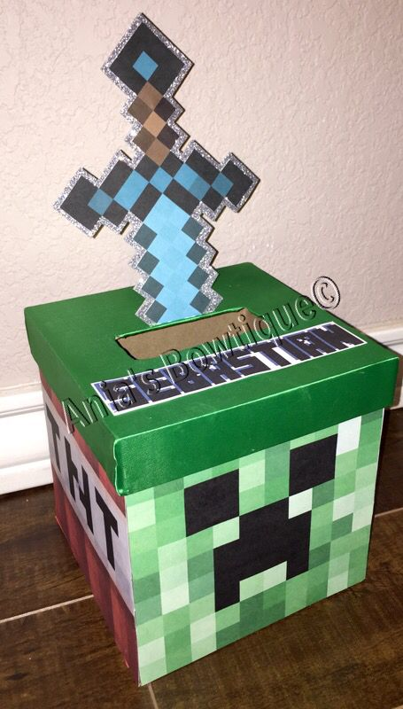 Minecraft valentine box