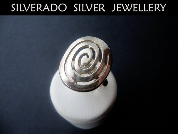 Sterling Silver 925 Oval Greek Eternity by SilveradoJewellery, €42.00