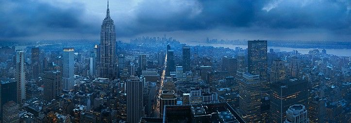 Gotham (New York City).  Photo by Peter Lik.  Everything this man does is amazing!