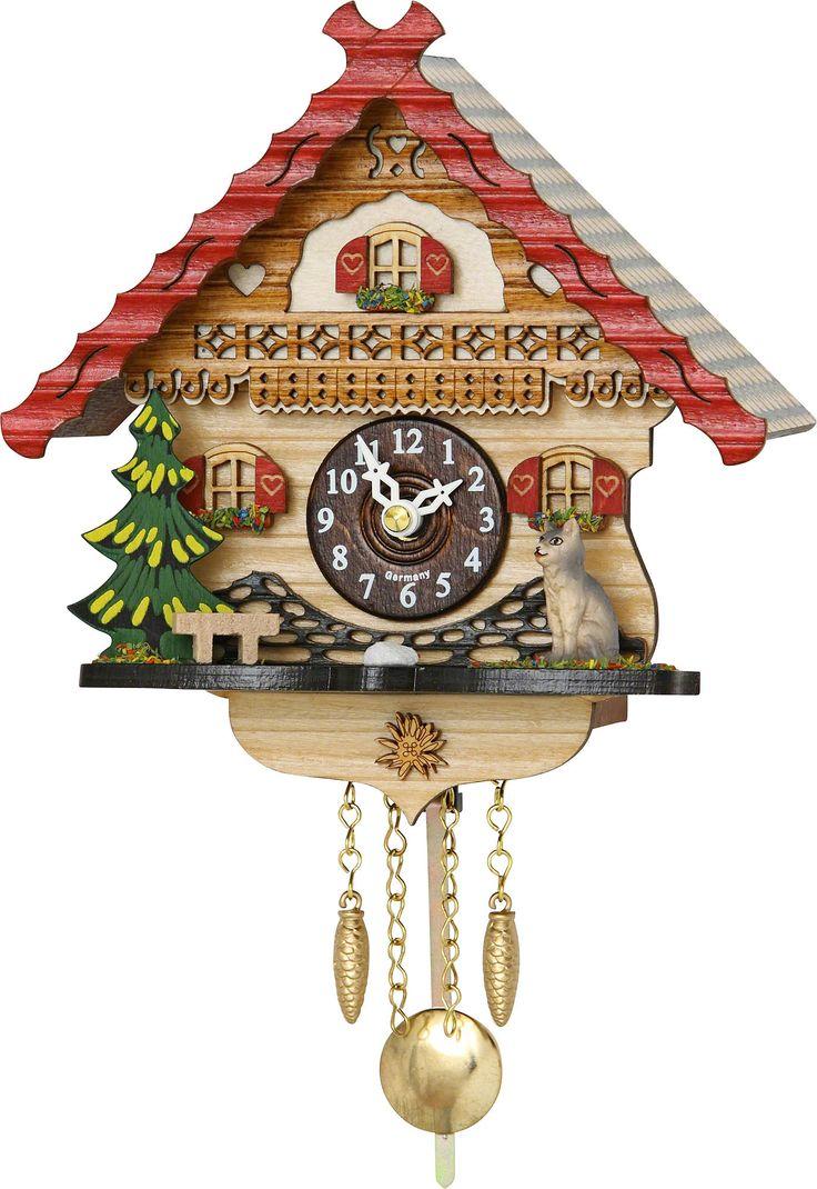 Reloj de péndulo de cuarzo 17cm de Trenkle Uhren