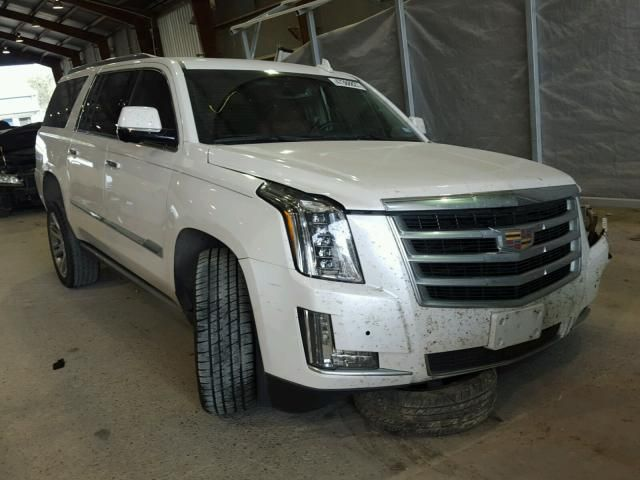 Salvage 2016 Cadillac Escalade Esv Premium Suv For Sale