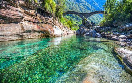 Der Fluss Tessin - Lago Maggiore