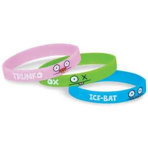 Collect and trade your favorite Uglydoll rubber bracelets  http://www.gowristbands.co.uk/