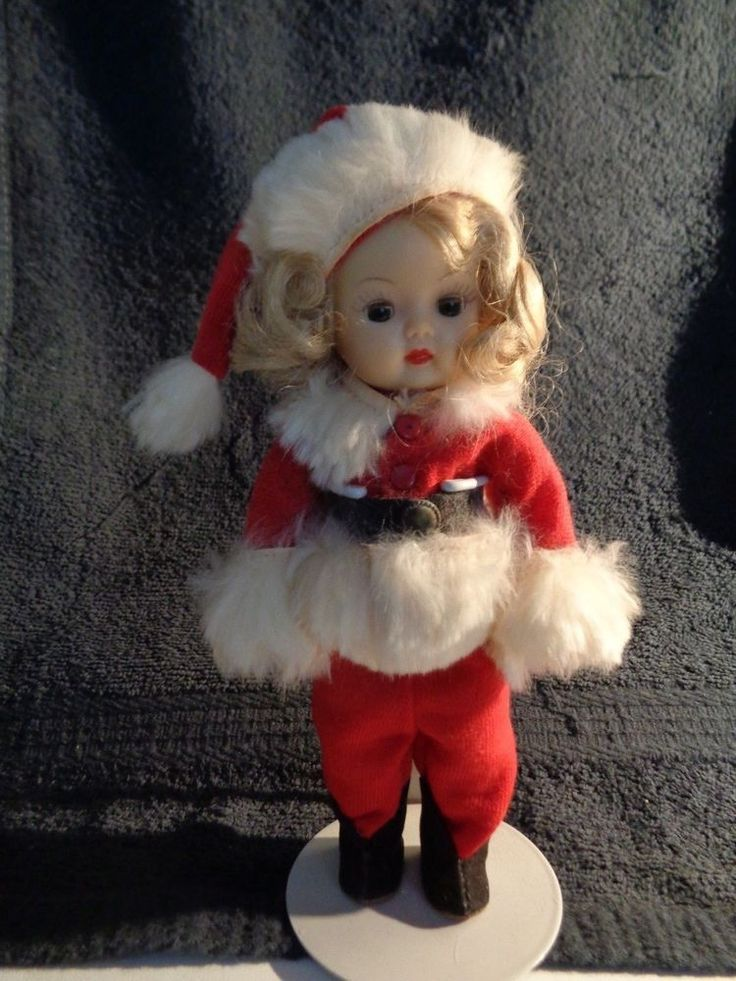 "MERRY CHRISTMAS ""MUFFIE"" IN DARLING SANTA OUTFIT--TAKE A LOOK!!!! #NancyAnn"