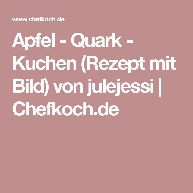 Apfel quark kuchen chefkoch