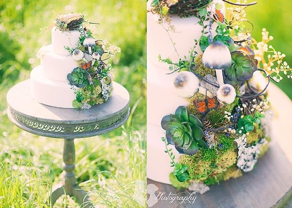 """""""Лесной"""" торт :) #cake #wedding"""