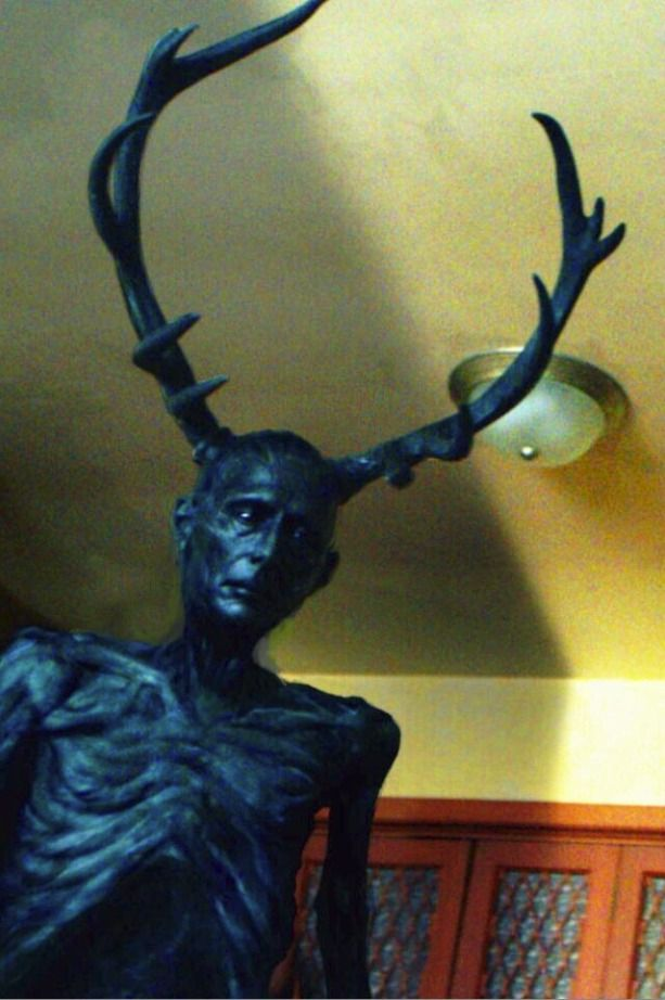 Wendigo. I like the emaciated look of a human, rather than the bestial qualities they're sometimes depicted as.