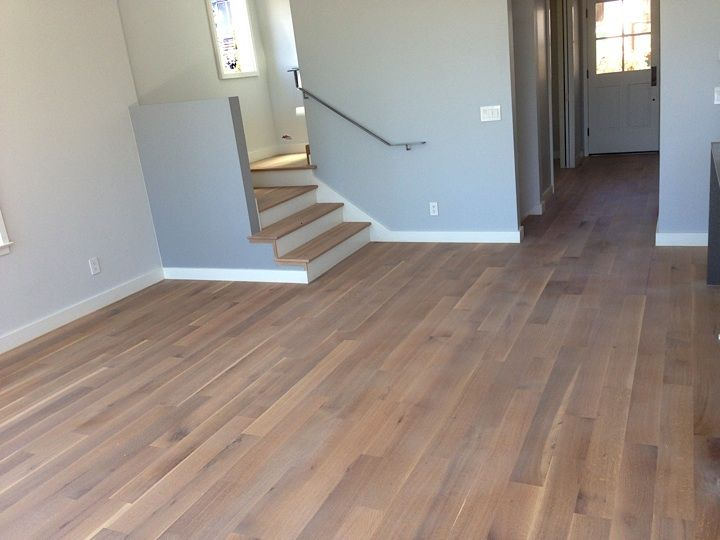 White Oak Rift And Quartered With Woca White Lye Amp Woca