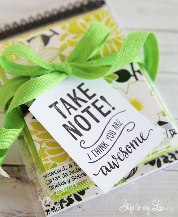 Take Note Teacher Appreciation Gift