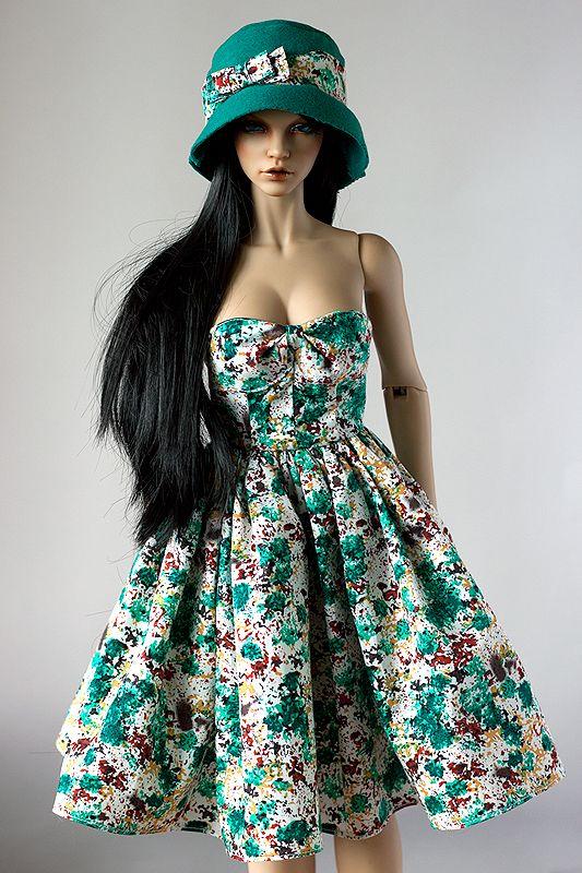 50's dress for BJD SD (Iplehouse EID) by Nulize.deviantart.com on @DeviantArt bjd #abjd #bjdclothes #bjdfashion #iplehouse #iplehouseeid #eid #bjdsewing #dolls #nulizeland