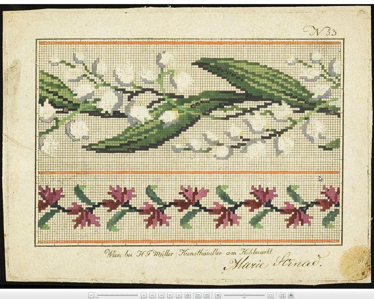 Wien wool work pattern: Lilies of the Valley