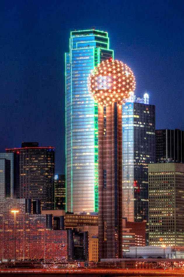 The Ball, Reunion Tower, Restaurant, Food, Visit Dallas, Downtown Dallas, Texas