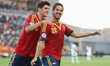 12.06.2013 Europa Cup under 21 Spain - Holland Prediction: 1 Odds: 2.20 Result: 3-0 Winning prediction!! www.efootballtips.com/recent - By using the results predicted by us you can have significant earnings every month!