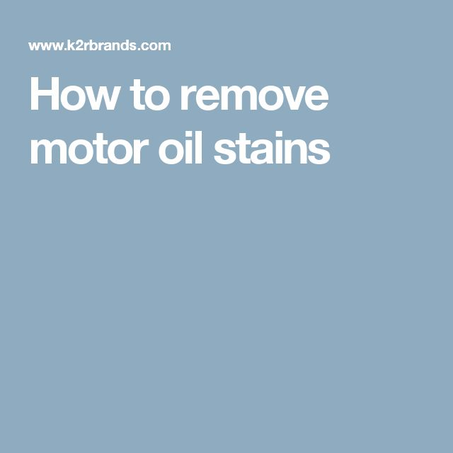Best 25 Remove Oil Stains Ideas On Pinterest Oil Stains