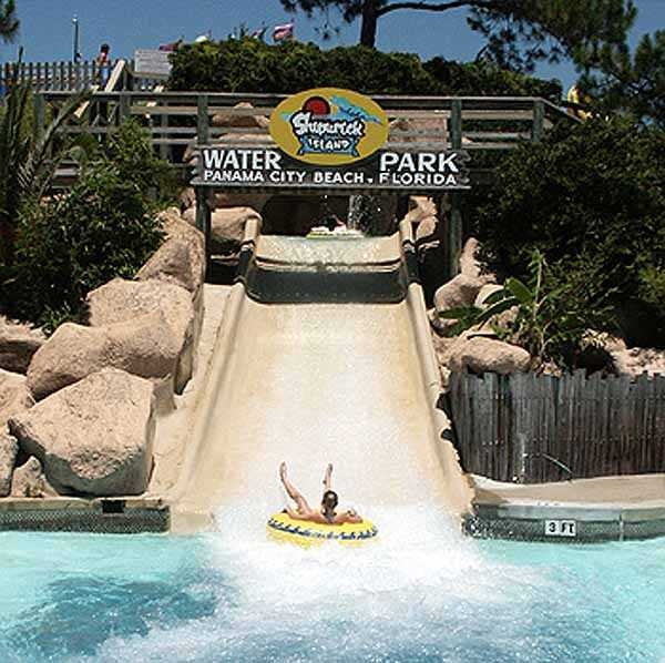 The Raging Rapids Ride At Shipwreck Island Waterpark In Panama City Beach