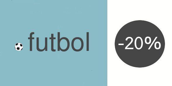 #futbol #foot Votre site web en .FUTBOL est en promo