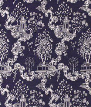 Robert Allen Big Spring Navy Blazer Fabric
