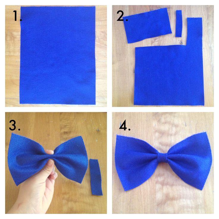 DIY+Hair+for+Teens   diy hair bows what you ll need fabric or felt glue gun hair clip how ...