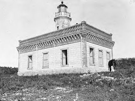 Old Lighthouse in Guanica, Puerto Rico c.1893  The Puerto Rican Campaign was an American military sea and land operation on the island of Puerto Rico during the Spanish–American War. The land offensive began on July 25, when 1,300 infantry soldiers led by Nelson A. Miles disembarked of the coast of Guánica.  READ MORE