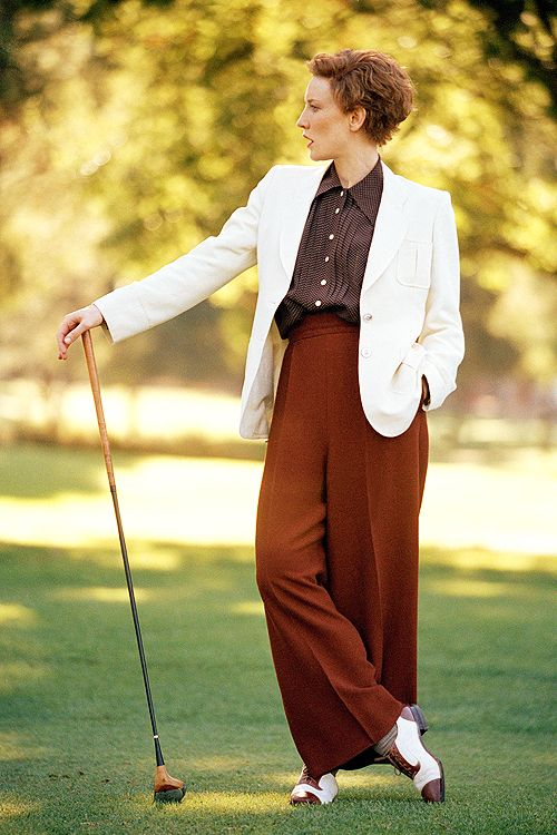 I love this hairstyle! But i just don't know if I have the sass that needs to go with it! (Golf scene from movie The Aviator)