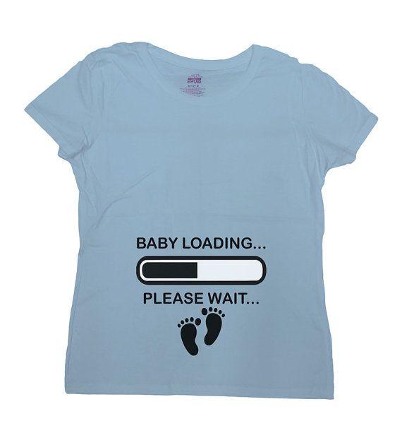 Bambino camicia gravidanza t-shirt gravidanza di CherryTees
