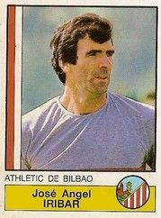 Entrenadores: Iríbar. Athletic Club de Bilbao. 1986-87. Editorial Panini.