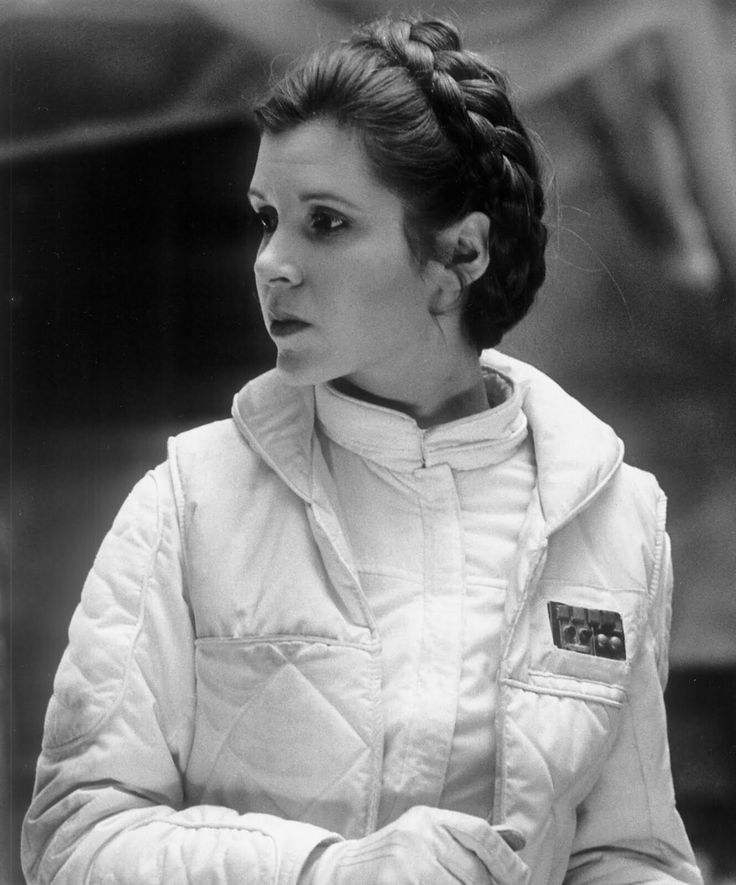 Leia, may the force be with you Carrie Fisher