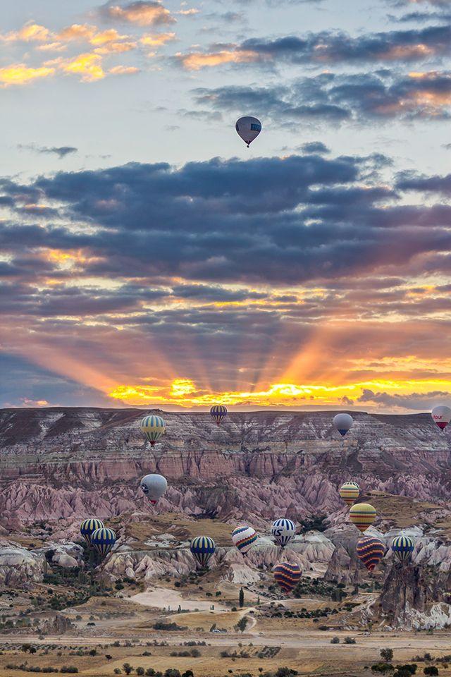 Our precious moment. at Cappadocia Turkey