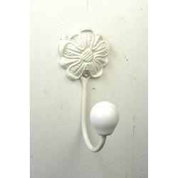 Knagg hvit blomst