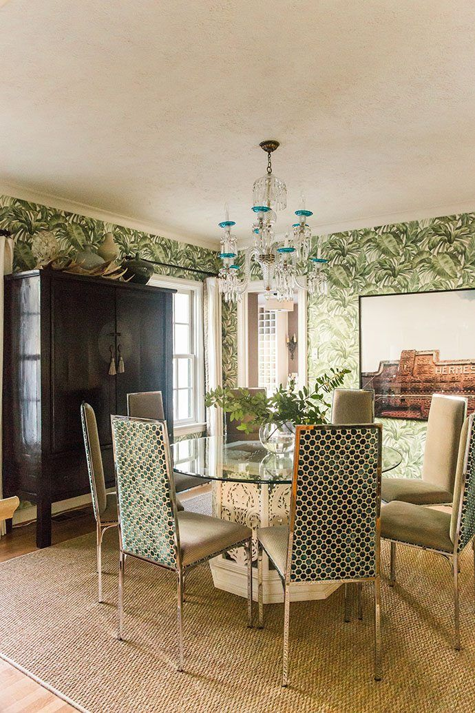 The 25+ best Dining room wallpaper ideas on Pinterest   Wall paper ...