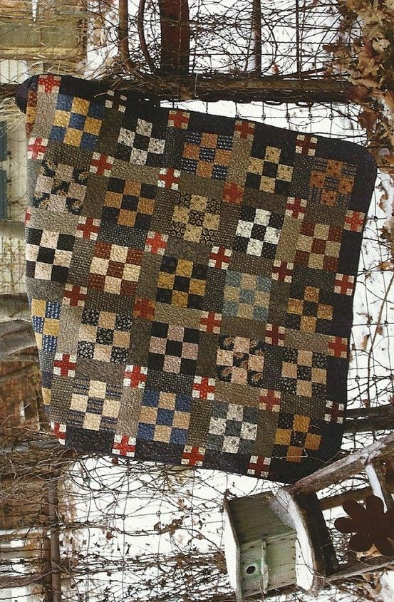 3031 best Quilts images on Pinterest | Primitive quilts, Quilting ... : primitive quilts and projects - Adamdwight.com