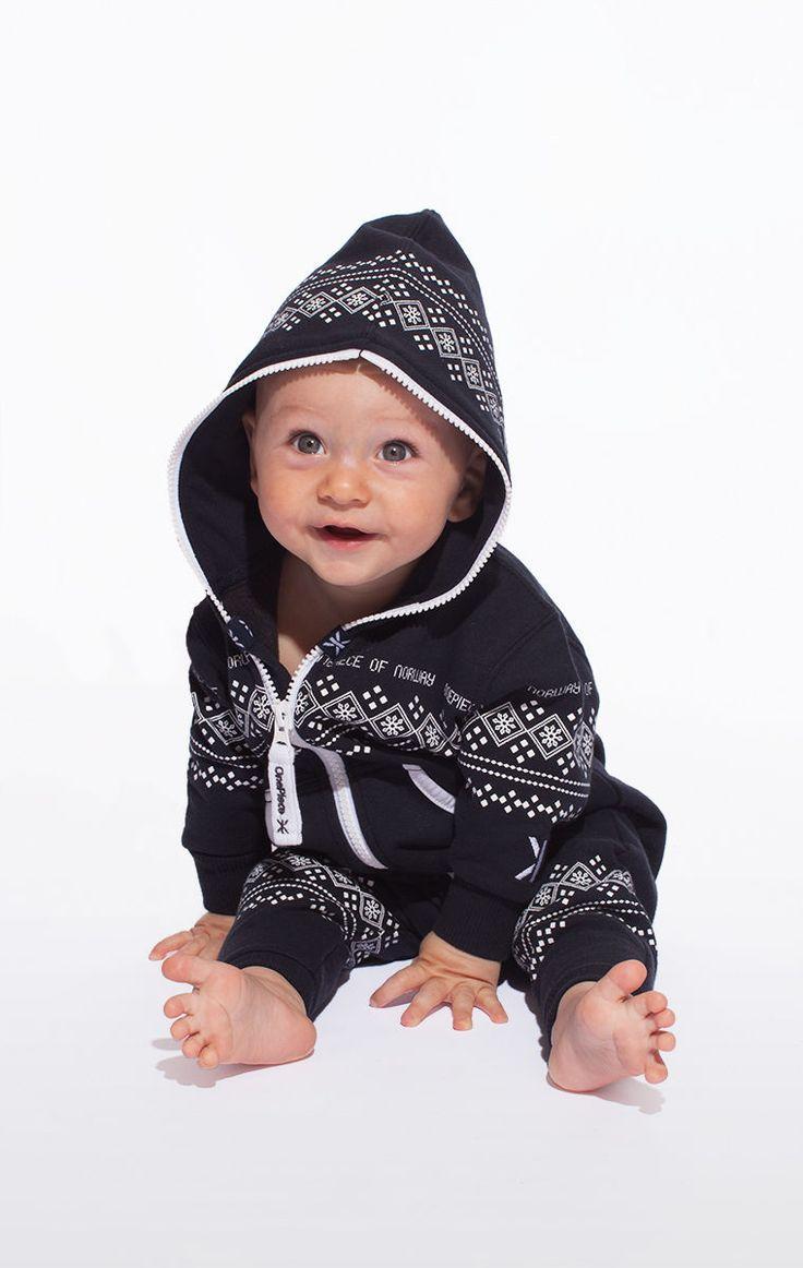 @OnePiece Baby Lusekofte Navy / White