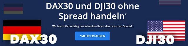 Formations: DAX30 und DJI30 ohne Spread handeln