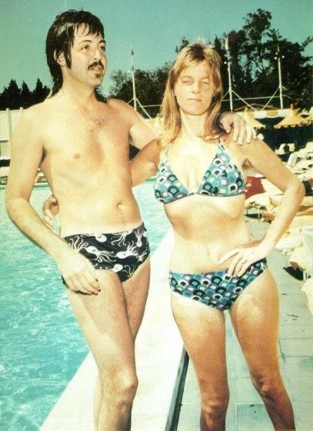 It's hard to be cool in a swimming pool in the 70's