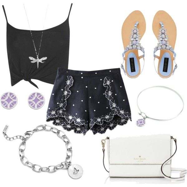 Florence and Damselfly by brittanypileggi on Polyvore featuring Boohoo, Chicnova Fashion, Forever New and Kate Spade