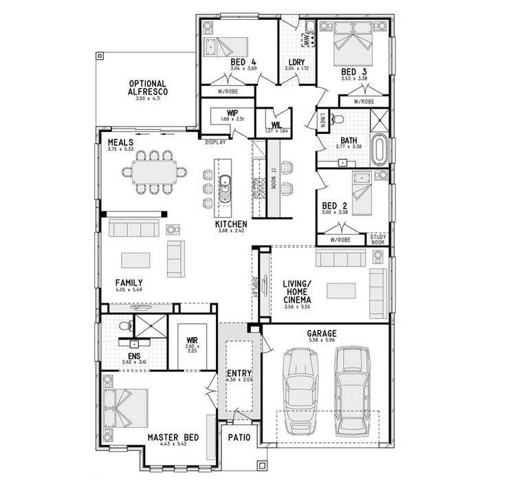 16 best images about floor plans on pinterest house for Eden brae home designs